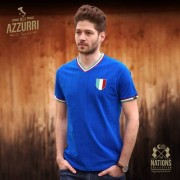 The Nations Collection Vintage Fussball Trikot Herren Italien M