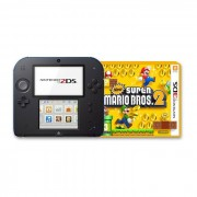 Nintendo 2DS New Super Mario Bros.2 Special Edition Nero e Blu