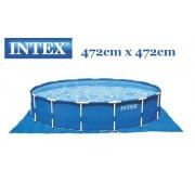 Intex talajtakaró fólia 472cm x 472cm 28048