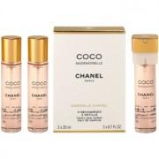 Chanel Coco Mademoiselle Eau de Parfum para mulheres 3x20 ml (3 x recarga)