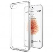 Capa de TPU Spigen Liquid Crystal para iPhone 5/5S/SE - Transparente