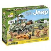 Cobi Klocki konstrukcyjne Armia Jeep Willys 24192