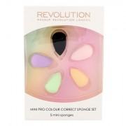 Makeup Revolution London Pro Colour Mini aplikátor pro dokonalý makeup 5 ks
