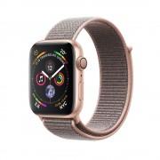 Умные часы Apple Watch Series 4 GPS 40mm Gold Aluminum Case with Pink Sand Sport Loop MU692 (Золотистый/Розовый песок)