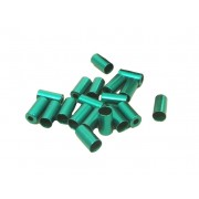 Alhonga bowdenház kupak acél 5x0.2mm zöld