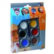 Palette De Maquillage Aqua 6 Couleurs Clowny