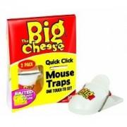 The Big Cheese Quick Click egércsapda 2db/cs.