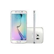 Smartphone Samsung Galaxy S6 Edge Desbloqueado Vivo Android 5.0 Tela 5.1 64GB 4G 16MP - Branco