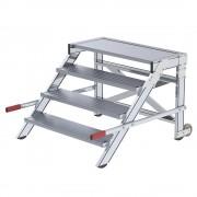 Bordestrap, breedte van de sporten 1000 mm, draagvermogen 200 kg