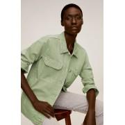 Mango - Geaca jeans Worker