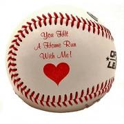 Romantic Balls TM by JustPaperRoses - baseball, football, soccer ball, basketball (Baseball)