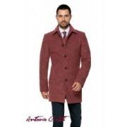 Palton Barbati Antonio Gatti Grena Office Lung din Lana Cotta B161 Luc 46