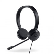 HEADPHONES, DELL UC150 Pro Stereo, Microphone, Black (520-AAMD-14)