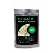 Seminte decorticate de Canepa Eco, 100g, Canah