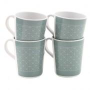 Setul de căni Outwell Blossom Mug set 4 buc. Culoarea: gri