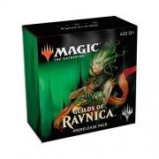 MTG Guilds of Ravnica Magic The Gathering Paquete de Prereleasing, Golgari (pre-Pelease, promoción, 6 potenciadores + d20 Spindown Counter) Kit
