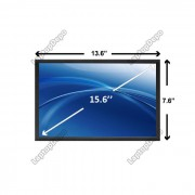 Display Laptop Toshiba SATELLITE L500D-ST5506 15.6 inch 1366 x 768 WXGA HD CCFL