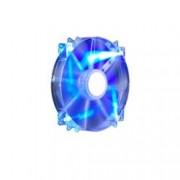 Вентилатор 200mm, CoolerMaster MegaFlow 200 Silent, 3-пинов, 700 RPM, Blue LED