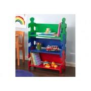 Puzzle játékpolc - színes, Kidkraft