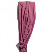 アルガンオイル加工生地 サイドライン センタープレスパンツ