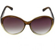 Creative India Exports Over-sized Sunglasses(Violet)