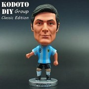 "Football star Soccer Player Star 8# ZANETTI(ARG Classic) 2.5"" Action Figure"