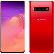 "Smartphone, Samsung GALAXY S10+, 6.4"", Arm Octa (2.7G), 8GB RAM, 128GB Storage, Android 9, Red (SM-G975FZRDBGL)"