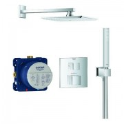Grohe UP-Duschsystem Grohtherm Cube 34741 chrom, 34741000 34741000