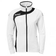 Kempa Damen-Trainingsjacke PEAK - weiß/schwarz | XL