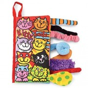 Culater%C2%AE Kitty Culater Baby Animal Tails Cloth Book Toys Development Books Learning Ed