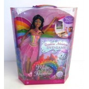 Barbie Fairytopia Magic of the Rainbow: Rainbow Adventure - Elina & DVD Game (African American)