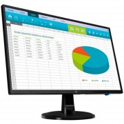 "Monitor HP N246V LED 23.8"" Full HD Widescreen HDMI Negro 1RM28AA"