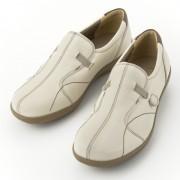 アキレス・ソルボ 3E 牛革スリッポンシューズ【QVC】40代・50代レディースファッション