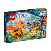 Lego Elves Fire Dragon`s Lava Cave 41175