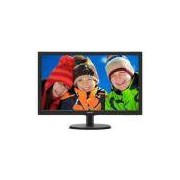 Monitor led 23 philips 243v5qhab 23,6 1920 x 1080 full HD wide vga dvi hdmi vesa multimidia