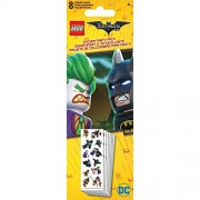 Lego Party Pack Stickers 8 Sheets - Dc The Batman Movie (Pack of 6 )