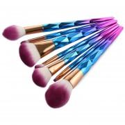 Brochas Maquillaje 7 Piezas Set Profesional - Colormix