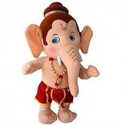 only4you LORD GANESHA SOFT TOYS 17 INCH FOR KIDS