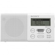 Radio cu ceas sony XDR-P1DBP alb (XDRP1DBPW.CE7)