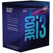 Microprocesador Intel Core I3 8100 3.6 Ghz-Gris