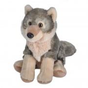 Wild Republic Pluche wolf knuffel 20 cm