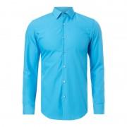 Hugo Slim Fit Business-Hemd mit New Kent Kragen