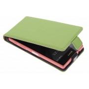 Luxe Flipcase voor de Sony Xperia Z5 Compact - Groen