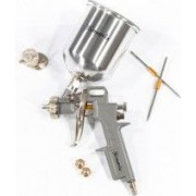 Pistol pneumat. p/u vopsit rezervor-part. de sus V0 6 L diametru duze 1.2 1.5 si 1.8 mm// MTX