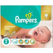 Scutece Pampers Premium Care 2 New Baby Mega Box 148 buc