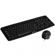 Canyon CNE-CSET1-BG, комплект мишка и клавиатура, USB, черни