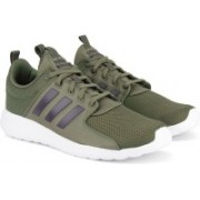 ADIDAS CF LITE RACER Running Shoes For Men(Olive)