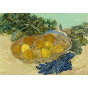Puzzle Grafika Kids - Vincent Van Gogh: Still Life of Oranges and Lemons with Blue Gloves, 1889, 24 piese (55143)
