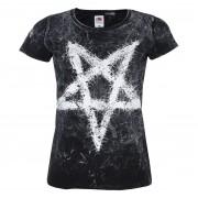 Damen T-Shirt Hardcore - PENTAGRAM - AMENOMEN - OMEN096DA