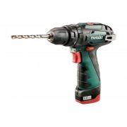 Акумулаторна бормашина Metabo POWERMAXX SB, 10.8V, 2Ah, 17Nm